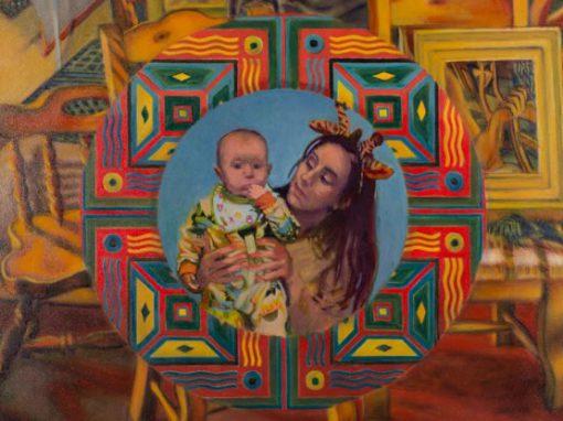 Madonna Tondo Triptych – Barlow Palminteri