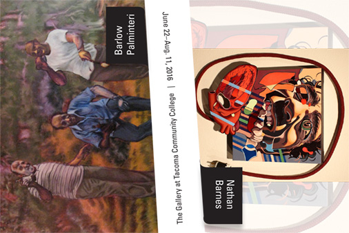 In the Gallery: Barnes & Palminteri Exhibit