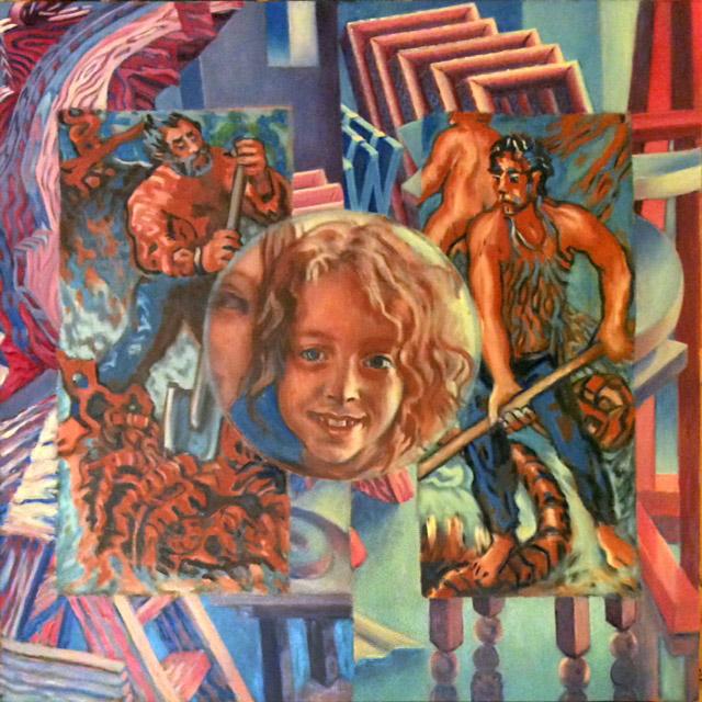 Allegorical Triptych Barlow Palmiteri